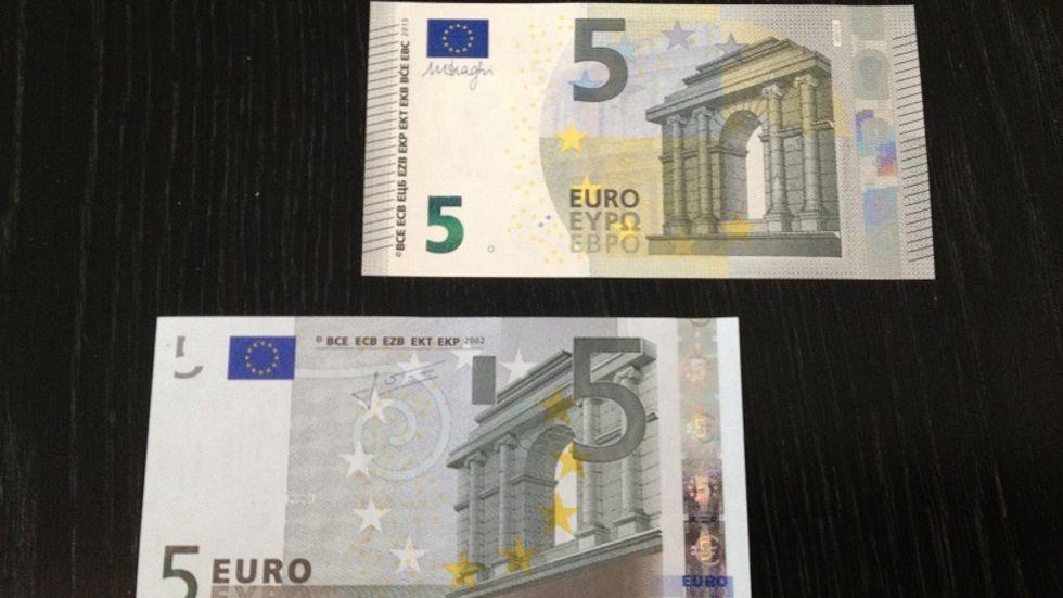 Alter Fünf Euro Schein