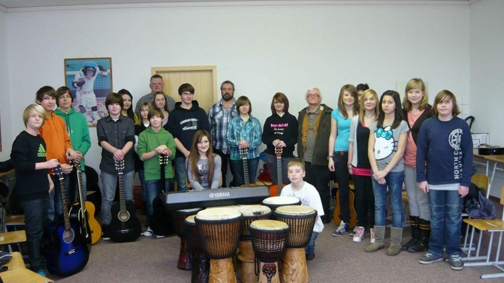 Ferienakademie gestartet: 19 Schüler lernen ein Instrument (c) Förderverein Musischer