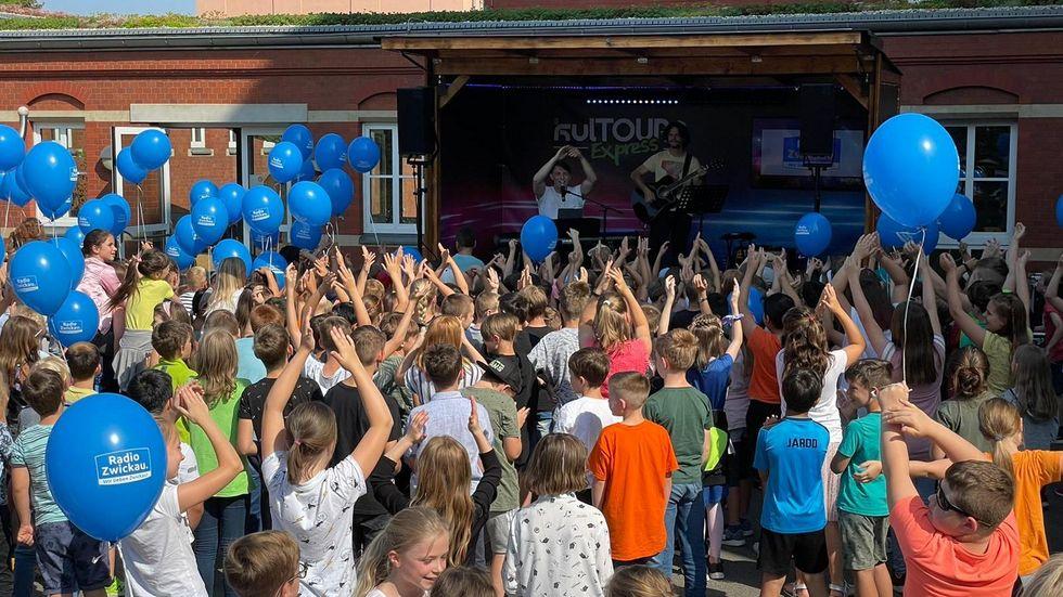 Der Kultour-Express fand am Freitag vor den Ferien seinen Abschluss an der Dittesschule.