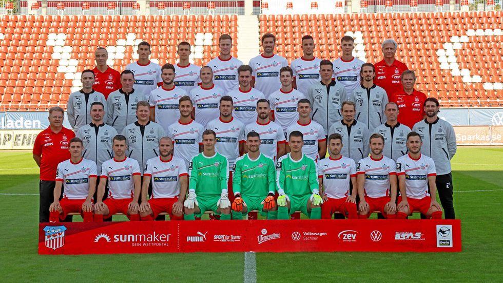 Mit dieser Mannschaft startet der FSV in seine fünfte Drittliga-Saison. © Ralph Köhler/ propicture