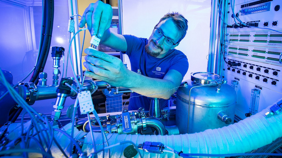 Die TU Chemnitz forscht bereits an der Wasserstofftechnologie