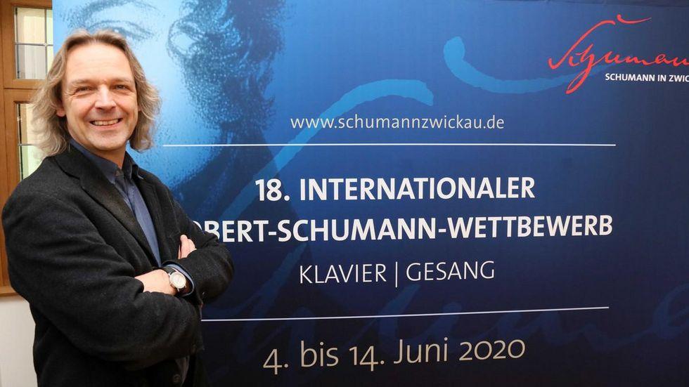 Thomas Synofzik, Direktor des Schumannhauses, leitet den Wettbewerb. © Ralph Köhler/propicture