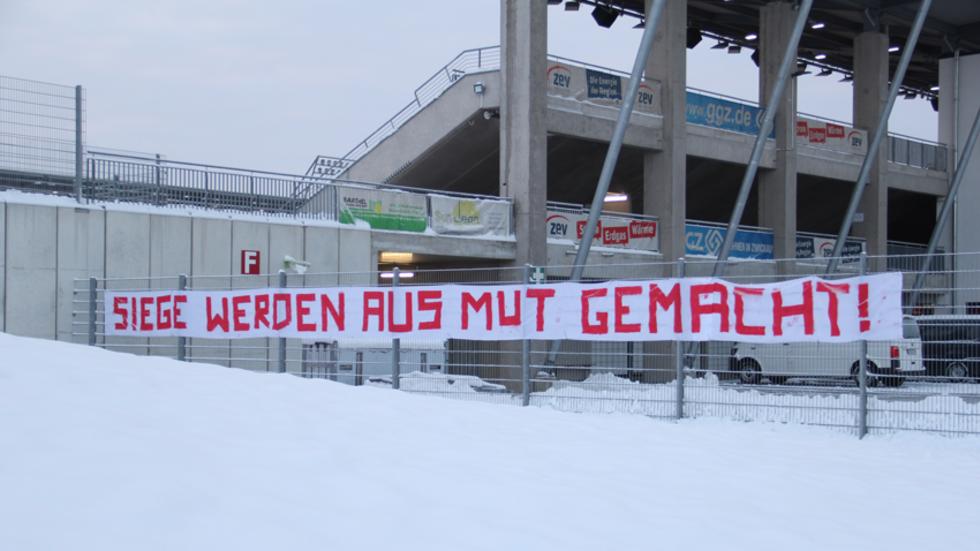 Der FSV hat die Reise nach Nordrhein-Westfalen ein paar Stunden vorgezogen.