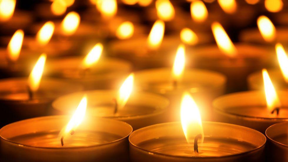 Lichtermeer als Kerzen