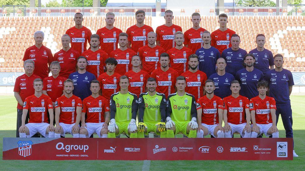 Mit diesem Kader geht der FSV Zwickau in seine sechste Drittligasaison.