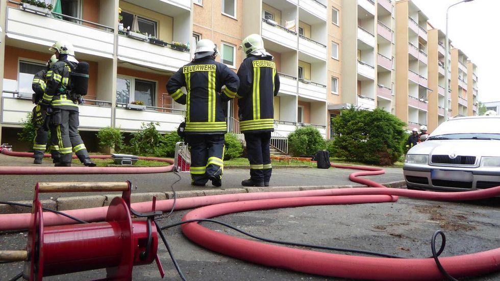 Feuerwehreinsatz an der Dortmunder Straße