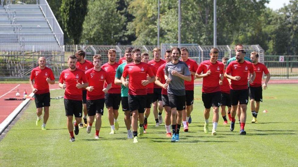 Mit 16 Feldspielern und 3 Torhütern ist der FSV in die Saisonvorbereitung gestartet. © FSV Zwickau