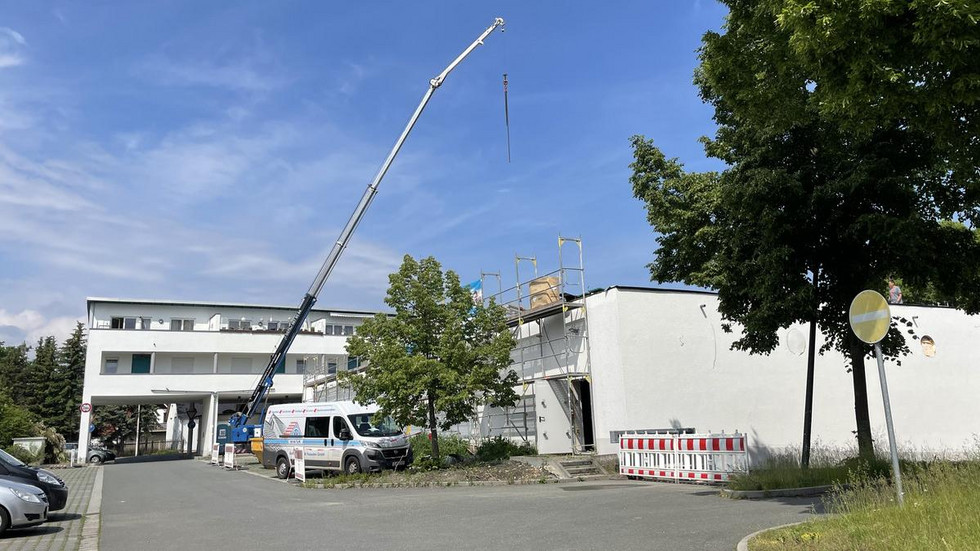 Anfang Juli soll das Gebäude an Diska übergeben werden.