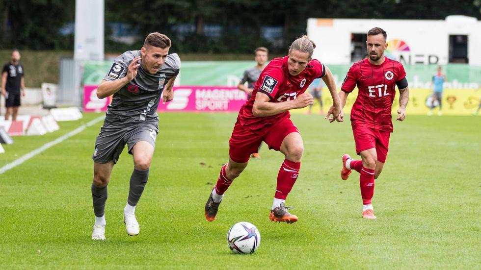 Marius Hauptmann rettete dem FSV mit seinem Treffer den ersten Punktgewinn