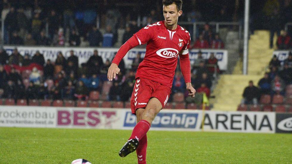 Bastian Strietzel läuft künftig für den FSV Zwickau auf. © imago images/ opokupix