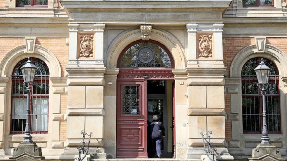 Das Amtsgericht in Zwickau. © dpa