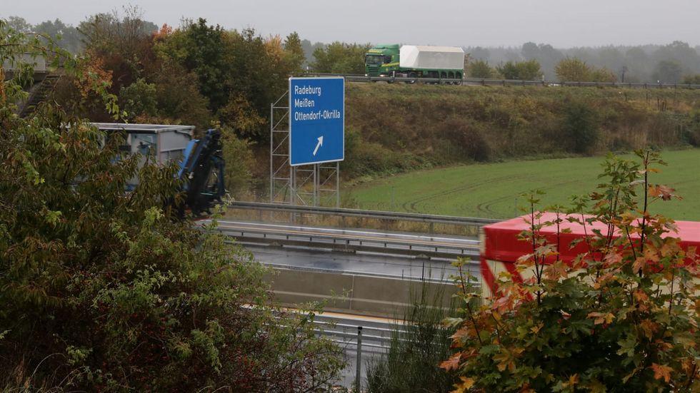 Das infizierte Wildschwein wurde an der A13 bei Radeburg geschossen